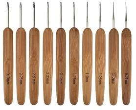 Szydełka Bambusowe 10 szt.